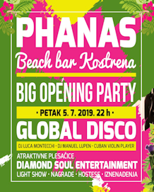 Phanas Beach Bar Kostrena - Big opening party - 05.07.